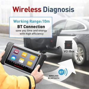 Image 5 - Scanner de voiture dautel MaxiPRO MP808TS Scanner de Diagnostic de voiture OBD2 outil de Diagnostic automatique