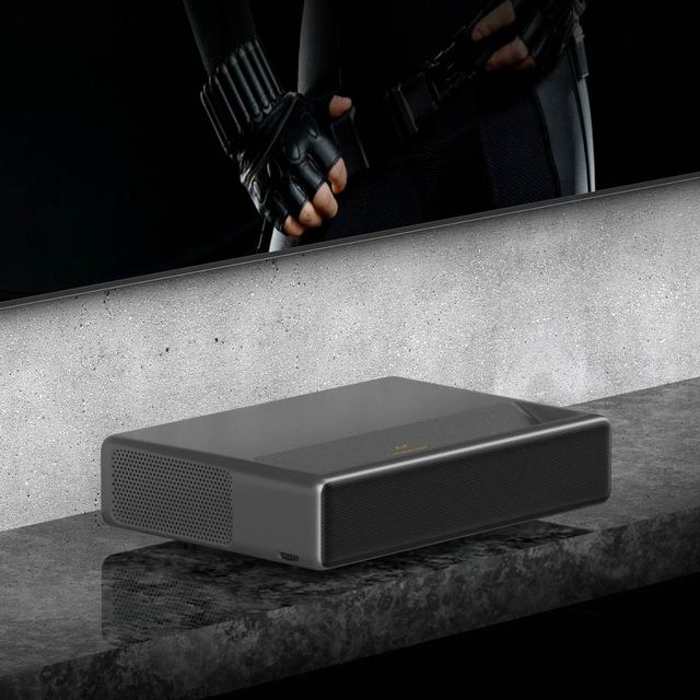 Fengmi Projetor 4K  WEMAX ONE 4K Full HD 1080P 3D 7000 lumens 2 + 16GB Android 6.0 ALPD Bluetooth WiFi WiFi 150 polegadas 3000: 1 TV MIUI do projetor MIUI da Appotronics 0.233: 1 Português 4