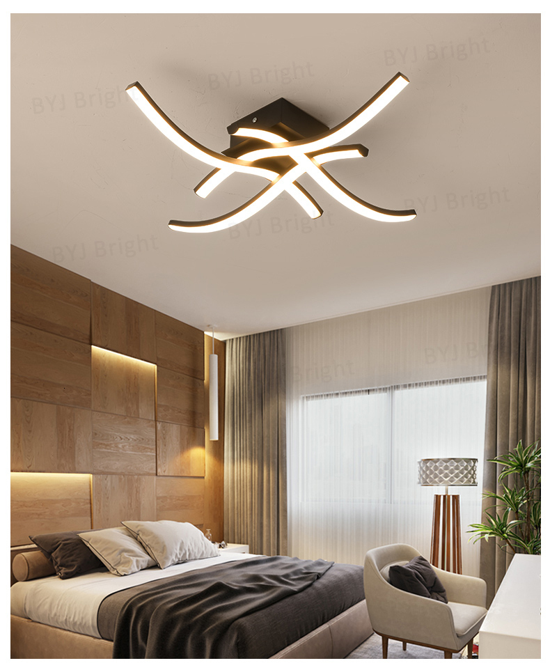 H5ced865e9ead4c1e965bc3467b4b8d463 Homelight | Modern Floor Lamps | Creative Modern LED Ceiling Lights For Living Room Bedroom Kitchen Black/White Deco Ceiling Lamp Indoor Home Lighting Fixtures 001