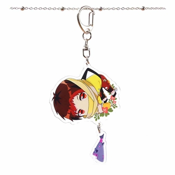 Game Fifth Personality Cartoon Acrylic Keychain Adventurer Mercenary Fashion Novelty Bag Pendant Key Chains Hot Sells image