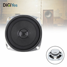 3 Inch 5W Portable Tweeter Full Frequency Neodymium Speaker Rubber Car CD Amplifier DIY Unit