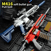 M416 Shell Ejection Soft Bullet Gun EVA Soft Bullet Sniper Rifle Airsoft Gun Armas Blaster Weapon Toys Gun CS Fighting Combat
