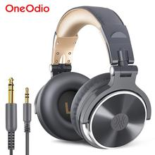 Oneodio Wired Monitoring Headphone Stereo Bass Studio Mixing Headset Over Ear Foldable Closed Back DJ Headphones For Phone PC