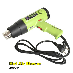 Image 5 - 2000w Air Gun Heat Gun Hot Air Gun For Soldering Hair Dryer Building heat guns For Construction Hair Dryer Industrial power Tool