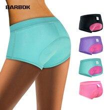 WOSAWE femmes Shorts de cyclisme vélo sous-vêtement confortable collants de Compression Gel 3D rembourré vélo pantalons courts vtt Shorts