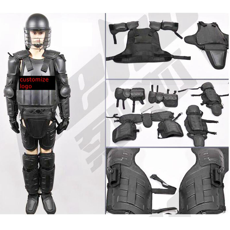 Anti-riot Suit For Emn Security Armor With Helmets Flame Fire Retardant Safety Protective Equipment
