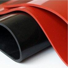 1,5 мм/2 мм/3 мм красный/черный лист силиконовой резины 500X500 мм черный силиконовый лист, резиновый матовый, силиконовый лист для термостойкости