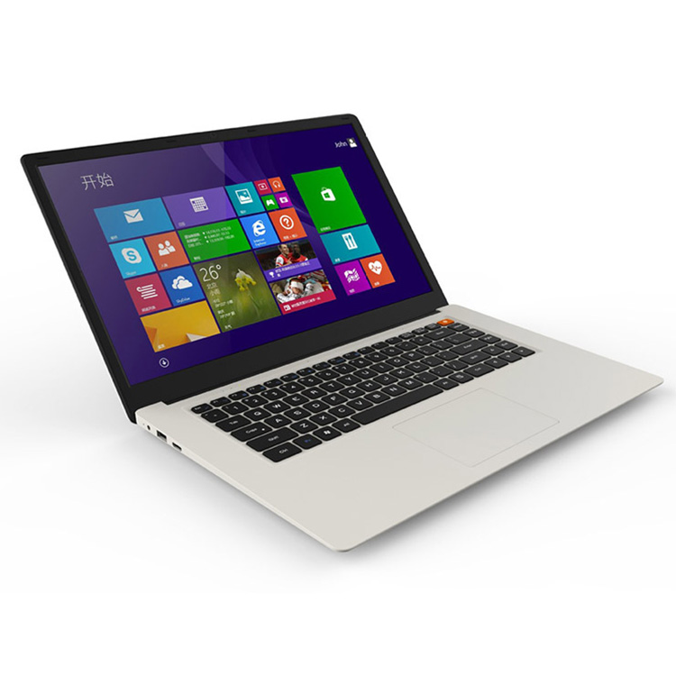Hot Sale Notebook 15.6 Inch Laptop I7 4G 8G 500GB 1000GB SSD 256GB DVD-RW Metal Case Computer Pc
