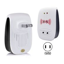 Electronic Mosquito Repellent Rodent Control Ultrasonic Pest Fly Insect Killer U50E useful ultrasonic electronicrepeller new white riddex plus electronic pest rodent control eepeller 220v