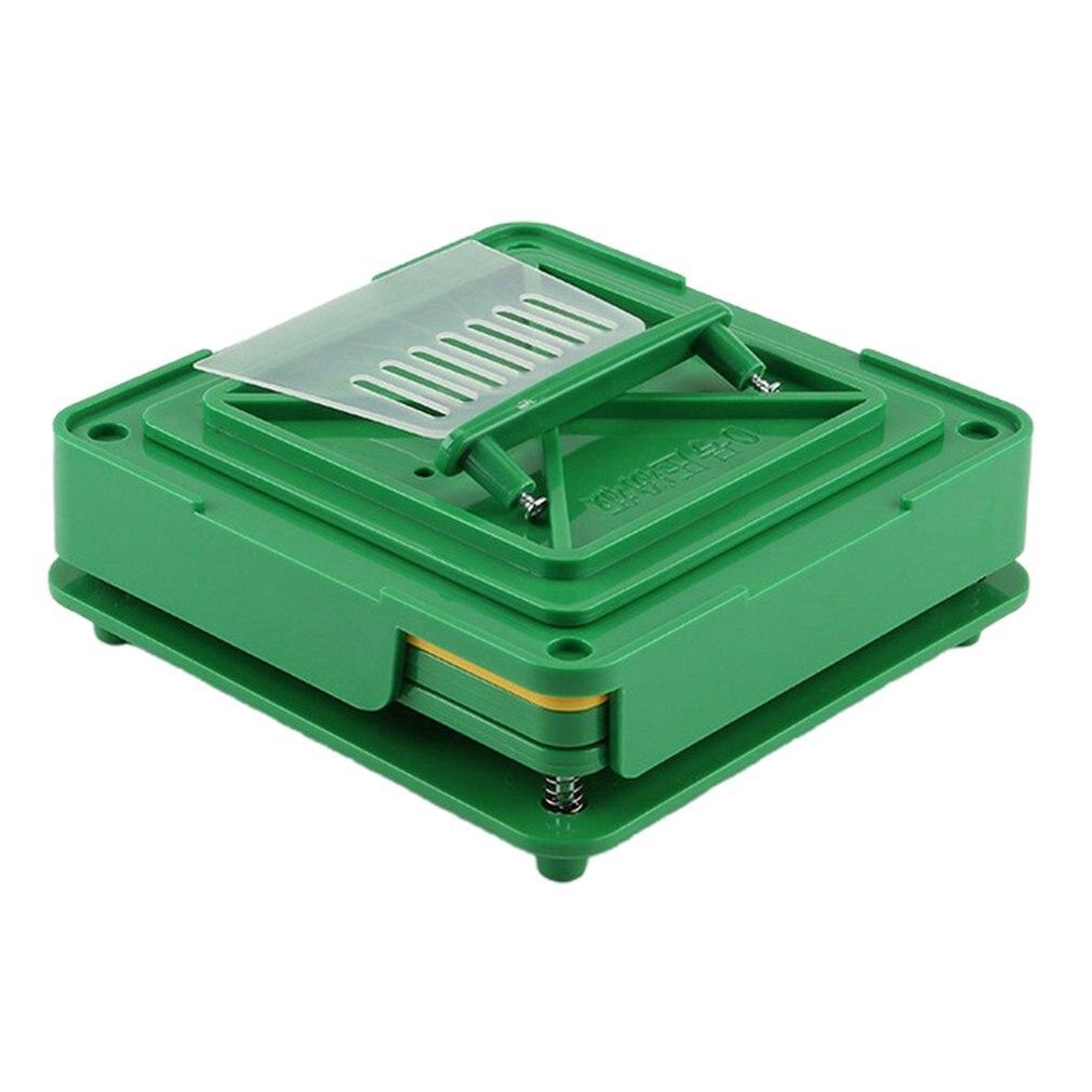100 חורים ידני קפסולת ידנית מילוי מכונה Encapsulator כמוסה מילוי לוח חור קפסולת מעטפת מילוי