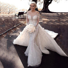 Великолепные Свадебные платья с юбкой годе милое кружевное платье