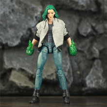 """Custom ML Legends TV The Gifted Polaris 6"""" Action Figure Lorna Dane Magneto Daughter Uncanny X Men Collectible Toys Doll Model"""