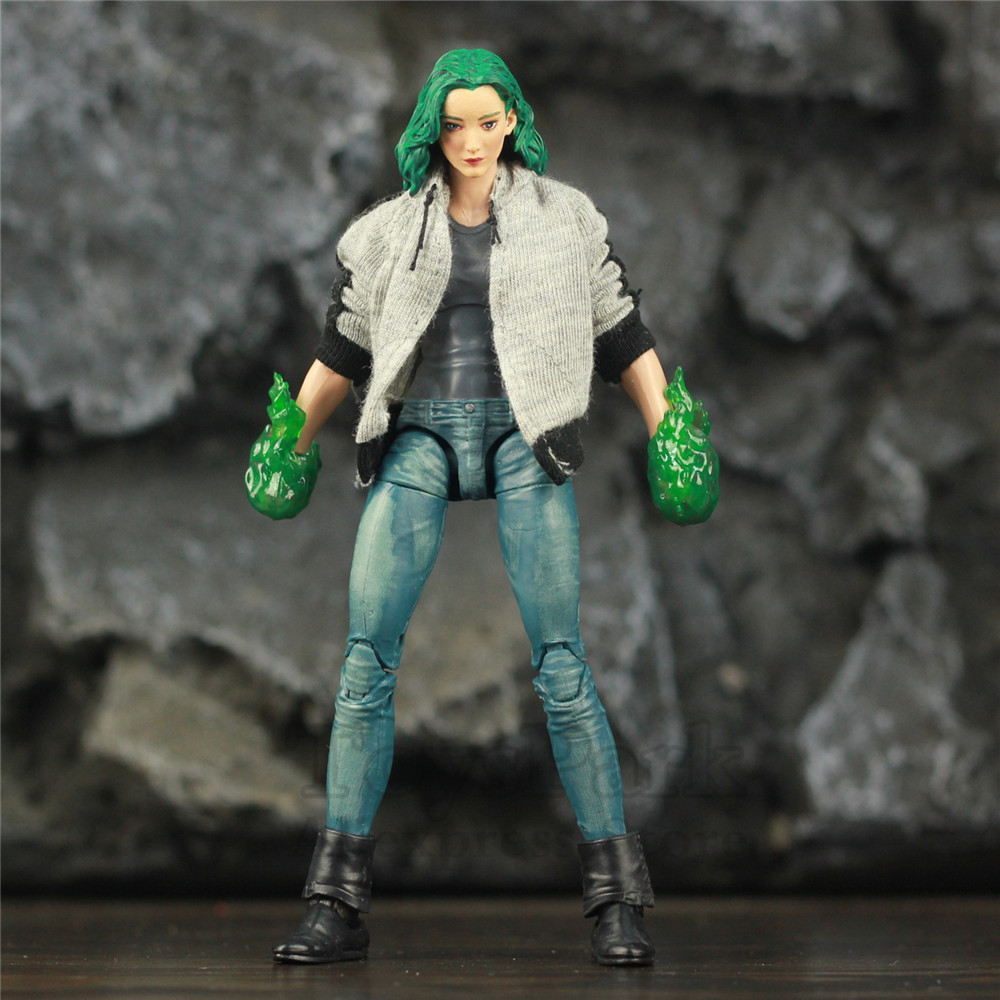 Custom Marvel Legends TV The Gifted Polaris 6