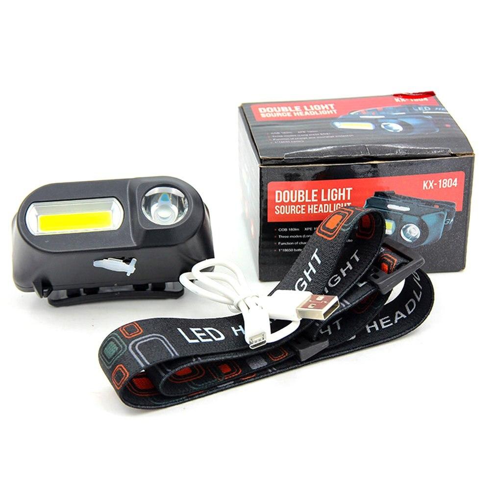 Cob Outdoor Emergency Flashlight 18650 Battery Multi-function Lighting Night Travel Lights Convenient Emergency Lights Sale