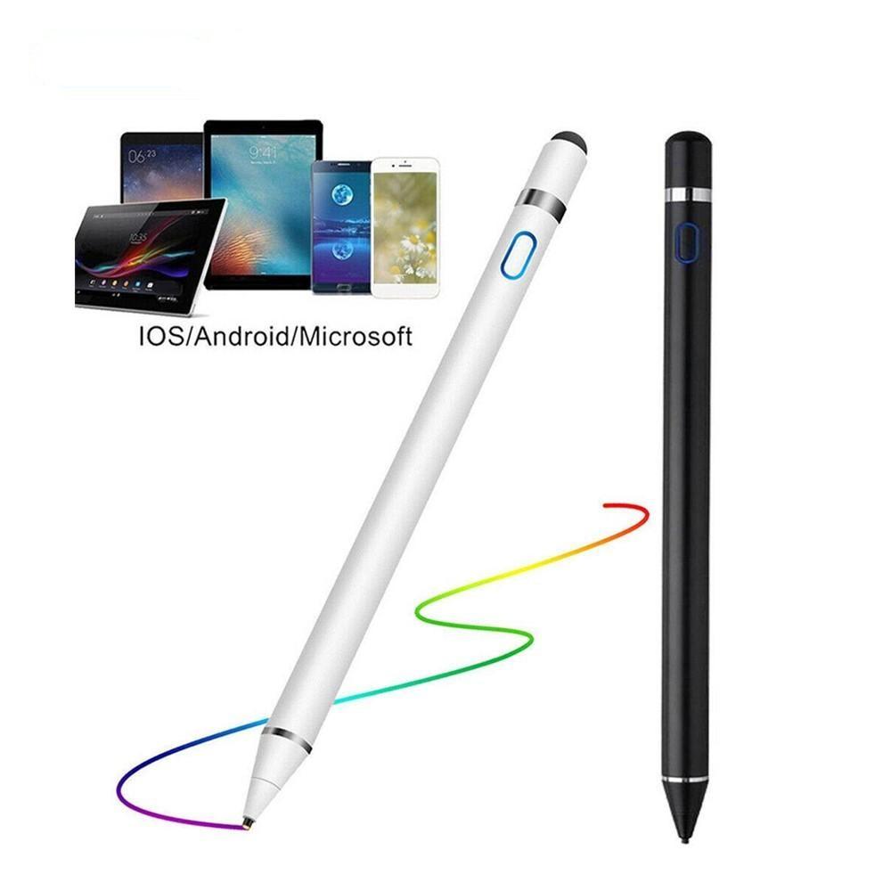 Стилус Apple Pencil for IPad планшетный ПК с системой андроида рисунок пером Карандаш 2in1 емкостный сенсорный экран Стилус для сенсорного экрана, моб...