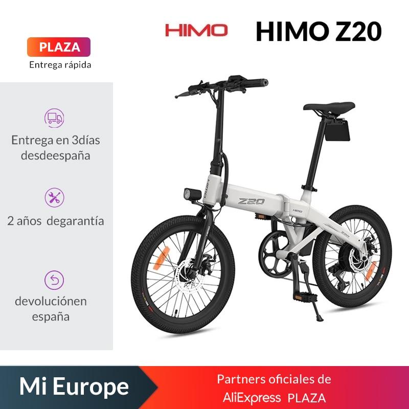 Stock-ue-80KM-chilometraggio-HIMO-Z20-bicicletta-elettrica-pieghevole-ultra-dinamica-Dual-Mode-e-bike Offerta HIMO Z16 a 620€, Mini Bici Elettrica 2021