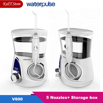 Waterpulse V600G/V600 Electric Oral Irrigator 700ml Family Water Floss Dental Jet Irrigator Oral Hygiene Teeth Cleaning
