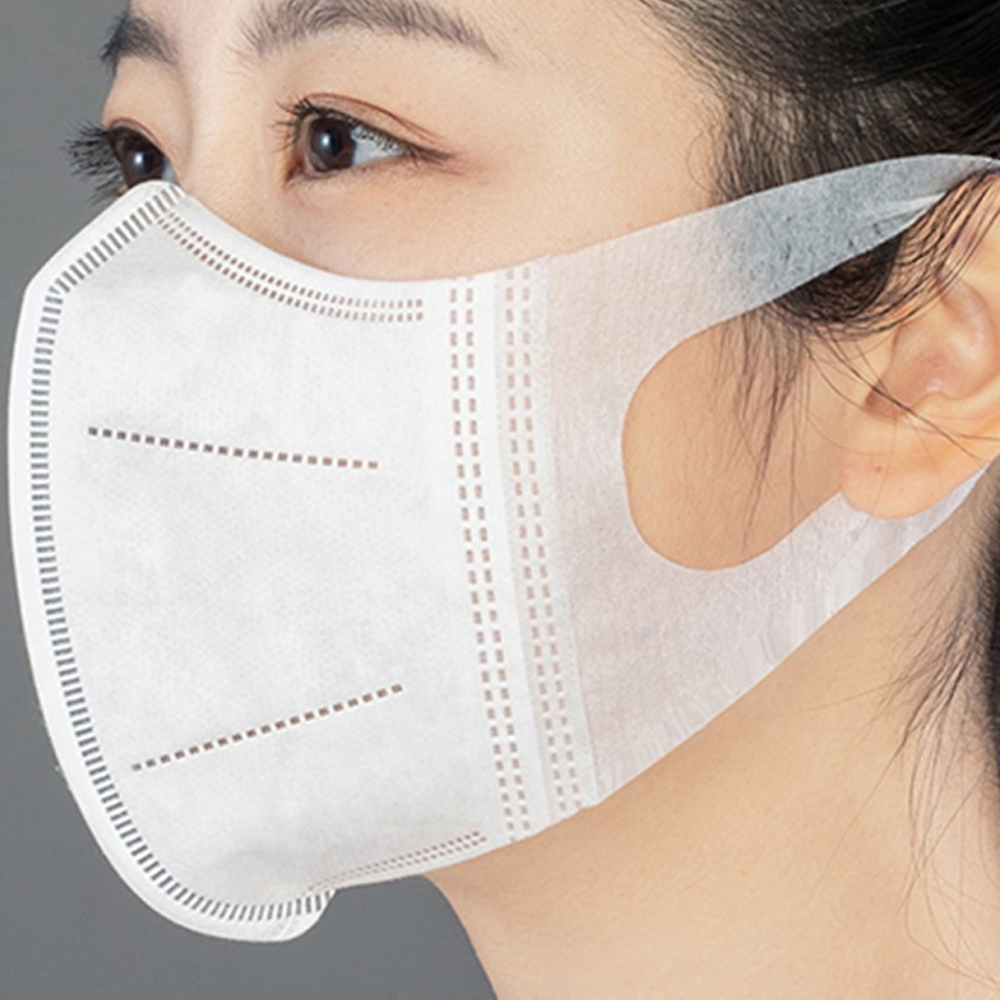 12 Hours Delivery Spot 50PCS/Box Disposable Mask 3D 3-Ply Non-Woven Face Mask Respirator For Daily Protection Masks