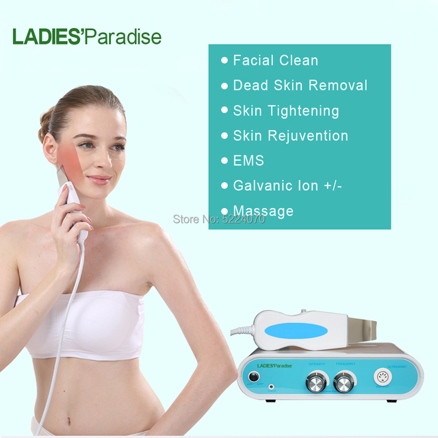 Powerful Ultrasonic face Skin Scrubber Blackhead Acne spots Removal Facial Dirt Peeling Cleaner Beauty Care Spa lifting massager 2