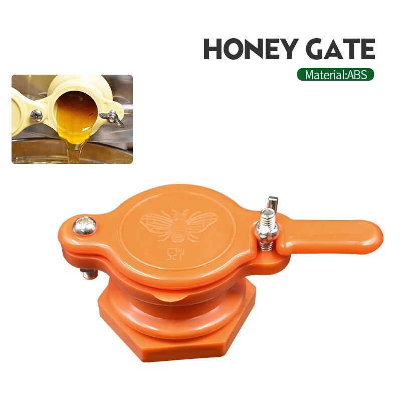 Herramienta de apicultura de la puerta de la miel de tres colores de la marca adecuada para el grifo de la abeja de la miel Herramientas de apicultura 33cm (13 pulgadas) miel de abeja cuchillo de raspado raspador de colmena equipo cortador para suministros de Apicultura