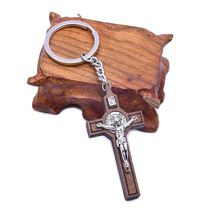 Pendant Jesus for Women Jewelry-Bag Souvenirs Key-Ring Cross-Keychain Gift Car Christian