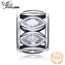 JewelryPalace Vintage Marquise 925 Sterling Silver Beads Charms Original For Bracelet original Jewelry