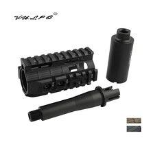 Handguard-Rail-System Airsoft VULPO Tactical CQB for AEG M4/M16 Ultra-Short High-Quality