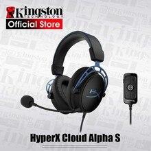 Kingston HyperX Wolke Alpha S E sport headset 7,1 surround sound Gaming Headset Mit einem mikrofon für PC