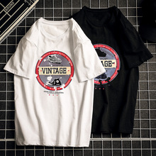 Men T Shirt Printed Vintage Men T-shirt Cotton Men O neck Short Sleeve Casual Brand Tee Cool Fashion New Summer цены