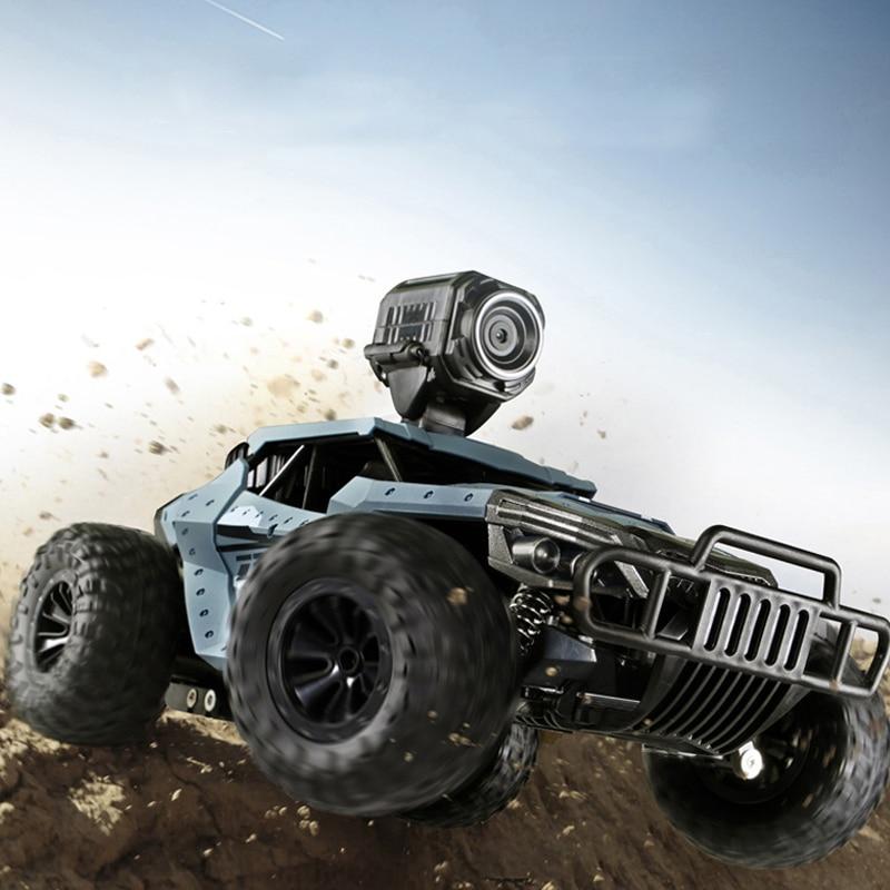 Oyuncaklar ve Hobi Ürünleri'ten RC Arabalar'de Yeni 2.4G 2WD yüksek hızlı FPV RC araba WiFi kamera HD 720P 2MP makinesi radyo uzaktan kumanda kapalı yol Carros oyuncak Boys için'da  Grup 1