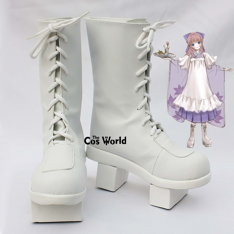 VOCALOID Megurine Luka Senbonzakura Thousand Cherry Trees Anime Customize Cosplay Shoes Boots