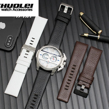 22mm 24mm 26mm 28mm 30mm Genuine Leather Black& White& Brown