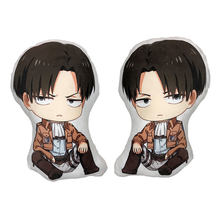 Attack on Titan Mikasa Ackerman Levi Ackerman Powell Long Double-sided Q Plush Pillow Cushion(China)