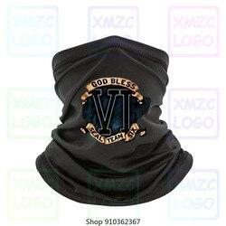 Edição limitada deus abençoa a equipe dos homens do selo da marinha dos eua bandana em torno do pescoço preto moda t bandana roupas superiores casuais