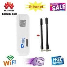 Разблокированный HUAWEI E8278 E8278S-602 4G 150 Мбит/с LTE Cat4 WiFi Dongle 4G USB модем