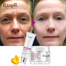 RtopR Hot Eye Cream+Face Cream Skin Care Anti-Wrinkle  Whitening Moisturizing Improve Drying Dark Circles Face Set