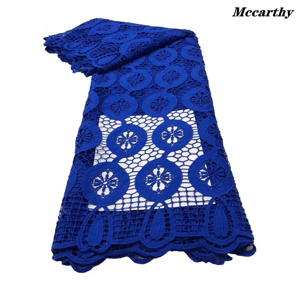 High Quality Guipure lace Soft Classic African Eembroidery Cord Fabric Nigerina Celebration Dress ZJY00-1