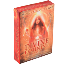 цена на The Divine Feminine Oracles CardA 53-Card Deck Meggan Watterson for Embodying Love Cards Game Toy