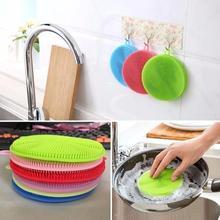 Скребок для мытья посуды, силиконовая чаша, щетка для чистки, тряпка, очищающая прокладка, кастрюля, кастрюля, мытье, кухонный очиститель, губка для мытья посуды