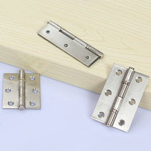 4Pcs 2/2.5/3inch Furniture Hinges Cabinet Drawer Door Butt Hinges For Cabinet door with Screws free shipping 30pcs silver tone hardware 4 holes diy box butt door hinges not including screws 22x16mm j3021