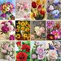 5D DIY Diamant Malerei Blumen Vase Kreuz Stich Kit Voll Bohrer Diamant Stickerei Mosaik Rose Kunst Bild Home Dekoration Geschenk