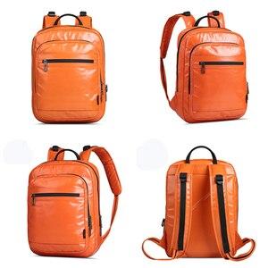 Image 3 - CAI 2019 PU Leather Female Backpack Bag for Women designer Zipper School Shoulder Bags Travel Sport back pack Girl Fashion