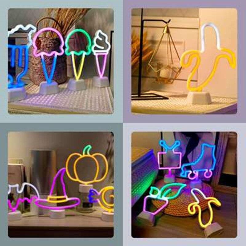 Bunte Eis Led Neon Lichter Sexy Tisch Lampe Licht Bis Zeichen für Weihnachten Urlaub Partei Home Room Decor Neon pub Neue