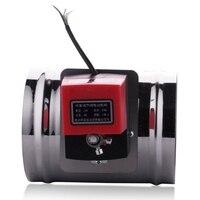 220V125Mm Luft Dämpfung Ventil Elektrische Luft Rohr Wert Elektrische Luft Dämpfung Rohr Ventil Luft Volumen Regelventil-in Luft-Bypass-Ventil aus Kraftfahrzeuge und Motorräder bei
