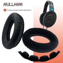 NullMini zamienne Earpads dla Sennheiser HD545 HD565 HD580 HD600 HD650 słuchawki z pałąkiem na głowę słuchawki słuchawki