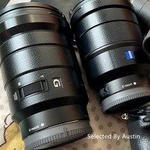 Capa de proteção de capa de envoltório de pele de lente premium para sony 16 35 f4 24 70 2.8gm 70 200 2.8gm f4 70 300