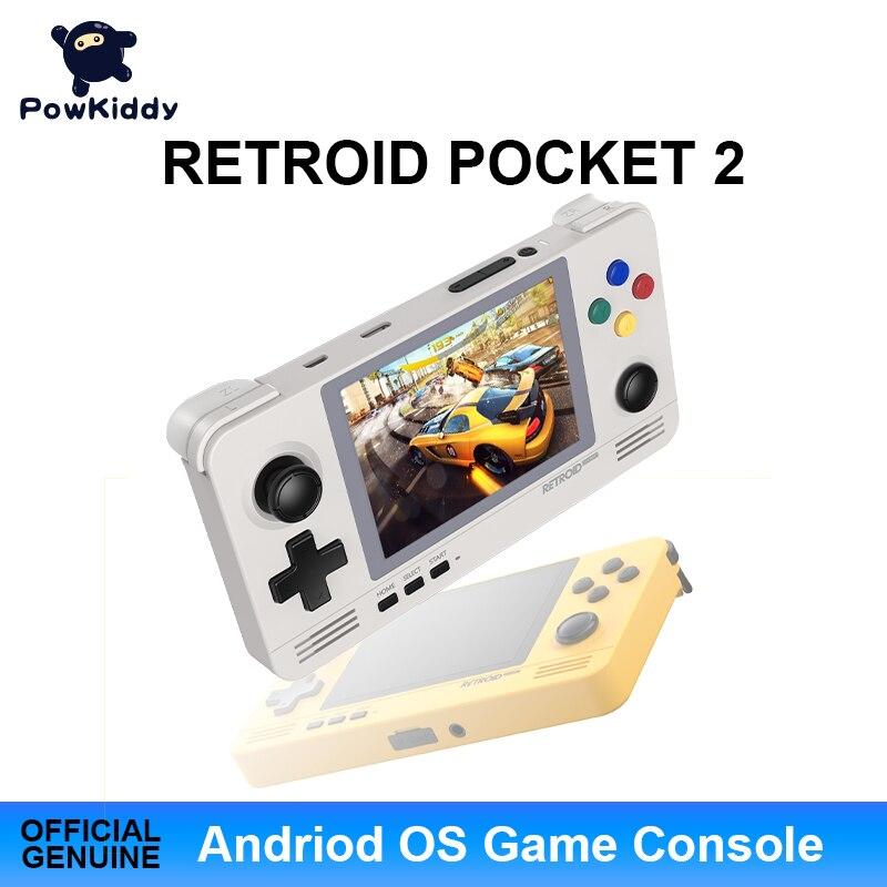 POWKIDDY A30 драконов карман 2 чехол для телефона в виде ретро-игровой карман игровой консоли 3,5 дюйма IPS Экран устройств на базе Android и Pandora двойной...
