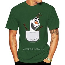 Olaf In Pocket Wholesale O Neck Cotton TEE Shirt Mens Womens T-shirt