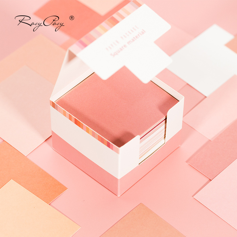 Creative Morandi Colors Theme Thick Memo Pad 6.8*6.8cm 150 Sheets 2020 New