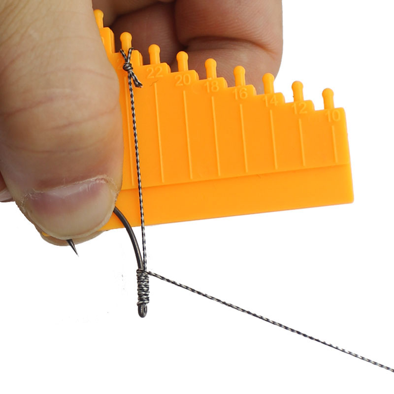 1PCS Carp Fishing Accessories Hair Gauge For Carp Hair Rig Measurement Tool Carp Coarse Method Feeder Fishing Tackle